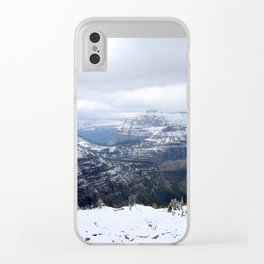 Boulder Pass Clear iPhone Case