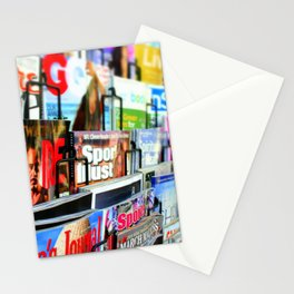 Magazine Stand Stationery Cards