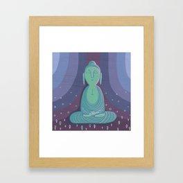 Buddha A Framed Art Print