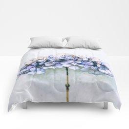 Delicate Hydrangea Comforters