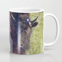 Cosmic Young Bull Coffee Mug