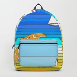 Summertime and the Living is Easy Backpack