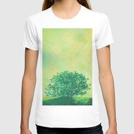 Green Lone Tree, Summer Sunlight T-shirt