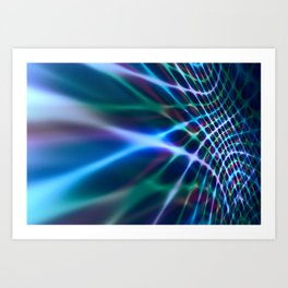 Abstract Composition 424 Art Print