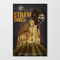 Straw Dogs Canvas Print