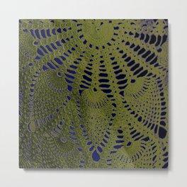 PillowP5- Lace Metal Print