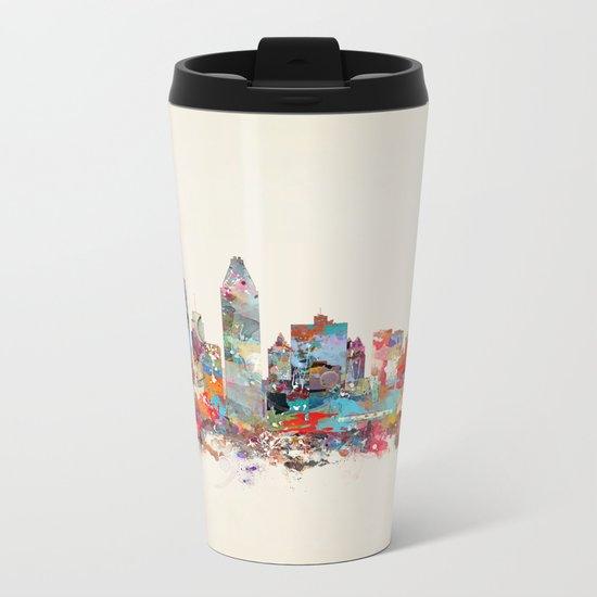Montreal Quebec skyline Metal Travel Mug