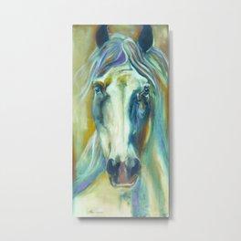 Horse in Color Metal Print
