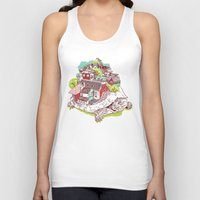 the neighbourhood Tank Tops featuring Tur-Town by Yoshi Andrian