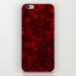 Red for Cy iPhone Skin