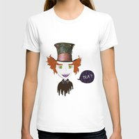mad hatter T-shirts featuring Mad Hatter by Lourenço Santos