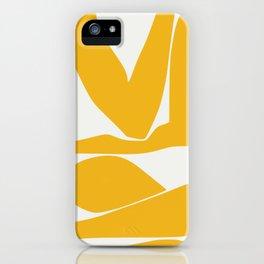 Yellow anatomy iPhone Case