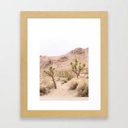 Rhyolite II (Vertical) Framed Art Print