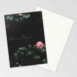 bloom with grace Stationery Cards