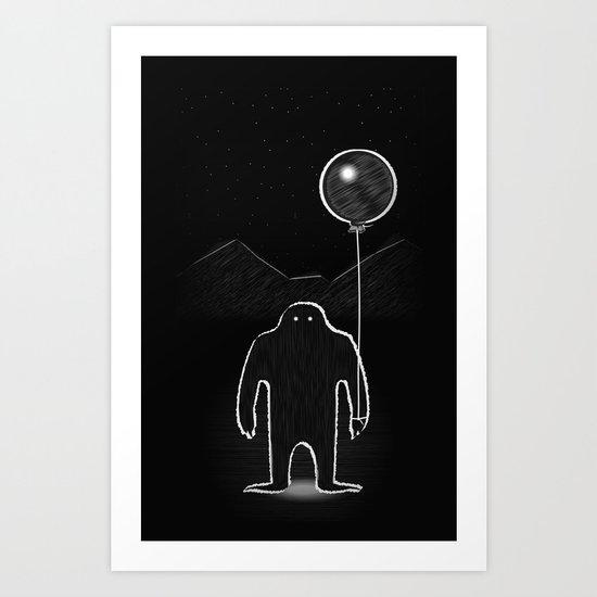 Monster 1 Art Print