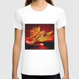 Phoenix Bird Fire T-shirt