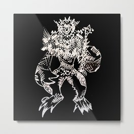 Black Book Series - Mythical Metal Print