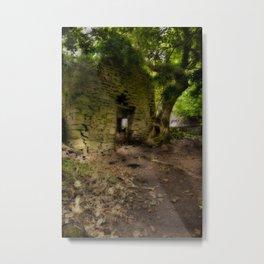 Mystic Cottage Metal Print