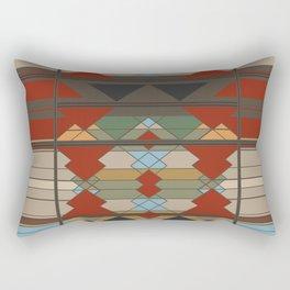 Tribal Southwestern Geo Design Rectangular Pillow
