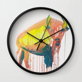 NO BULLSHIT Wall Clock