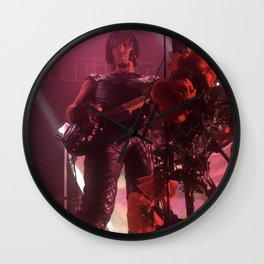 Valor Kand of Christian Death Wall Clock