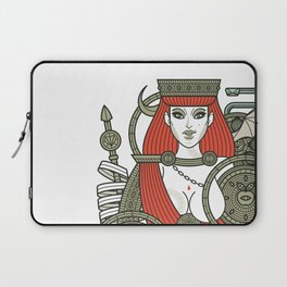 SINS Mentis - Lust Queen of Hearts Laptop Sleeve
