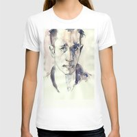 kerouac T-shirts featuring Jack Kerouac by Germania Marquez