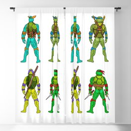 Superhero Butts - Turtles Blackout Curtain