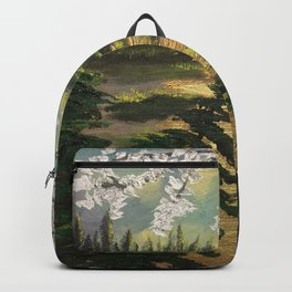 Silver Tree Backpack