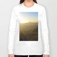 oasis Long Sleeve T-shirts featuring Hidden Oasis  by KyFox