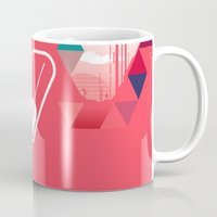 popsicle Mugs featuring Watermelon Popsicle by Spires