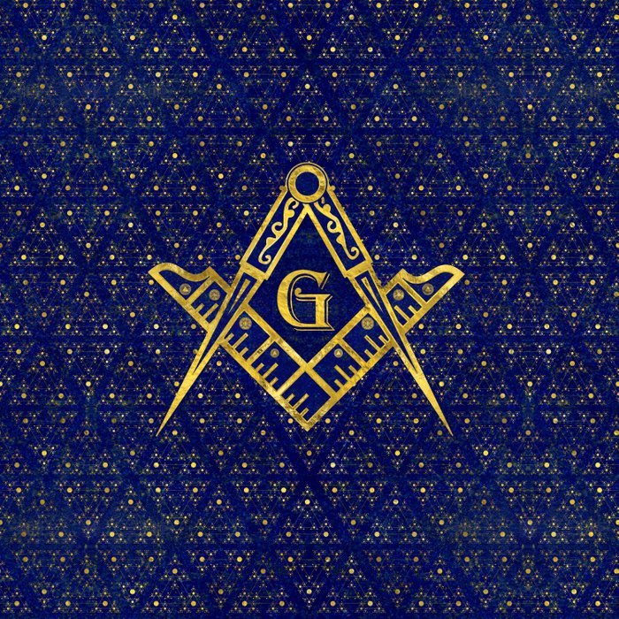 Freemasonry symbol Square and Compasses Comforters