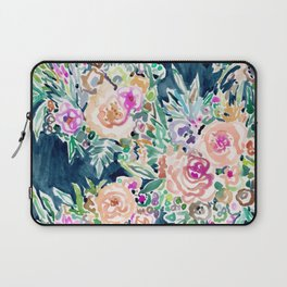 SO RICH Dark Boho Floral Laptop Sleeve