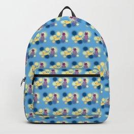 The Sleepy Sheep & Sunbathing Bear Pattern Backpack