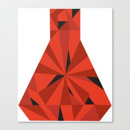 Science Ruby Canvas Print