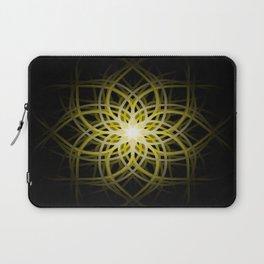 Mandala  -  Yellow Laptop Sleeve
