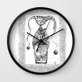 Jesters Wall Clock
