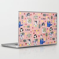 tennis Laptop & iPad Skins featuring tennis by Hui_Yuan-Chang