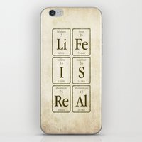 periodic table iPhone & iPod Skins featuring Periodic Realisation (grunge) by rob art | simple