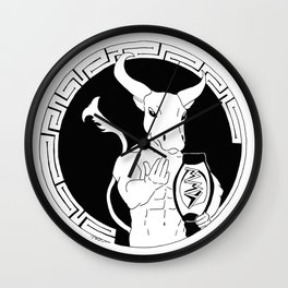 Welcome to the MML (Minoan Minotaur Labyrinth) Wall Clock
