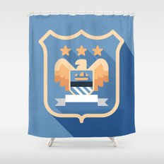 MCFC Shower Curtain