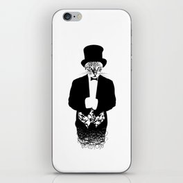 Cat in the Hat iPhone Skin
