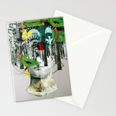 It´s all in your mind · Statue 3x Stationery Cards