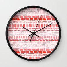 Blocks Wall Clock