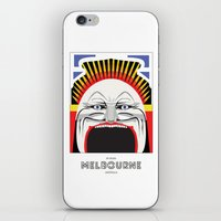 melbourne iPhone & iPod Skins featuring Melbourne by George Williams