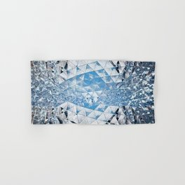Blue water in crystals Hand & Bath Towel