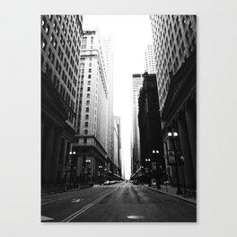 Chicago Street Canvas Print
