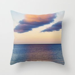 Approaching Clouds Throw Pillow