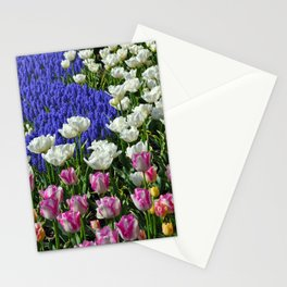 Spring colors garden Stationery Cards