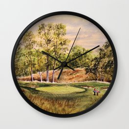 Merion Golf Course 17th Hole Wall Clock
